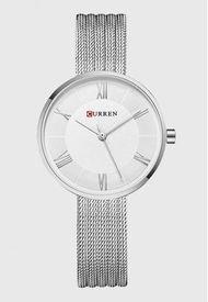 Reloj Análogo Plateado Curren