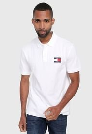 Polo Blanco Tommy Jeans
