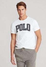Camiseta Blanco-Azul Polo Ralph Lauren
