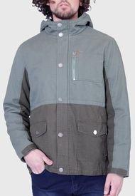 Chaqueta Mormaii Men Cotton Resin Jacket Full Zipper Verde - Calce Regular