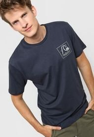 Remera Azul Quiksilver Leaping Ideas
