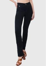 Jeans Marfil Pinzas Negro Amalia Jeans