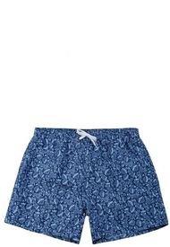 Short Baño Azul Hawaii H2O Wear