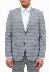 Chaqueta Suit Separates Cuadros Perry Ellis