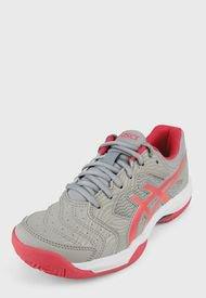 Tenis para Tennis Gris-Coral-Blanco asics Gel-Dedicate 6 Clay