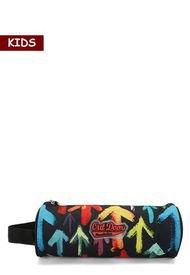 Estuche Negro-Rojo-Azul-Amarillo Kapital Kids