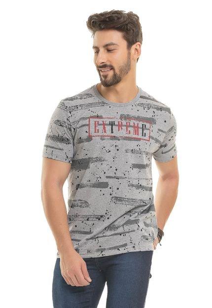 Camiseta Bugaloo Extreme Cinza