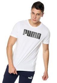Camiseta Blanco-Negro Puma ACTIVE KA
