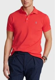 Polera Slim Fit Stretch Polo Rojo Polo Ralph Lauren