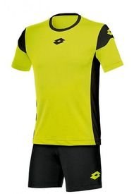 Pack Polera Y Short Stars Evo Amarillo JR Lotto