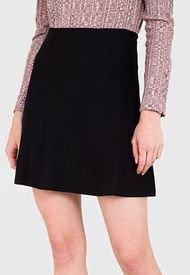 Falda iO Negro - Calce Regular