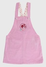 Vestido Barbie Niña Pana Dress Rosa
