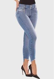 Jeans Push Up Trebol Azul Medio TYT Jeans