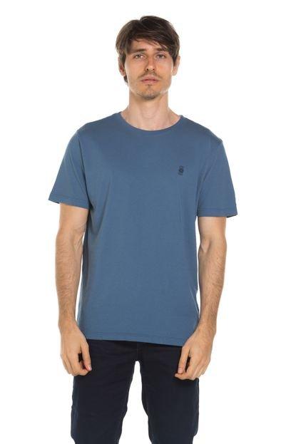 Camiseta True You Brasil Logo TrueYou Azul estonado