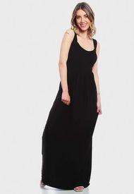 Vestido Wados Detalle Espalda Negro - Calce Regular