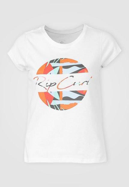 Rip Curl Camiseta Rip Curl Ocean Muse Branca G9HzN