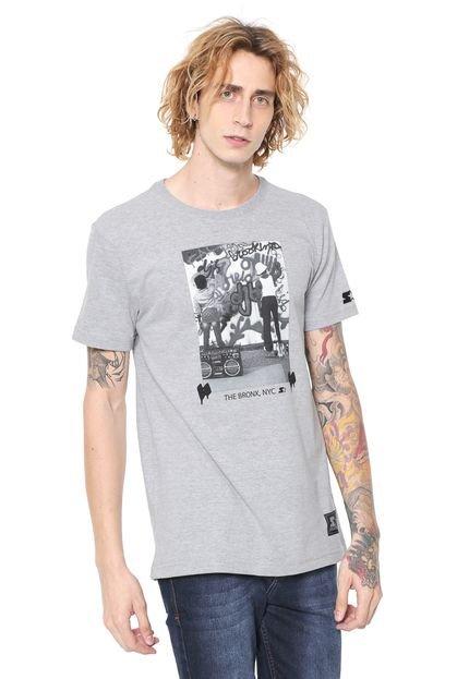 Camiseta Starter Kids Bronx Cinza
