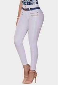 Jeans Levanta Cola Oliva Blanco TYT Jeans