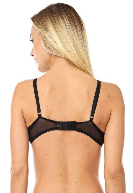 Calvin Klein Underwear Top Calvin Klein Underwear Renda Preto