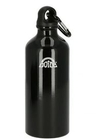 Botella Aluminio 600ml Negro Doite