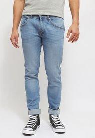 Jeans Wrangler Bryson Azul - Calce Skinny