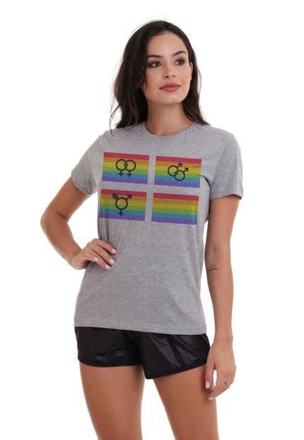 Joss Camiseta Basica Joss Lgbt Liberdade Mescla L6foi