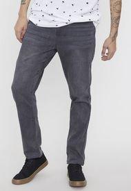 Jeans Skinny Superflex Gris - Hombre Corona