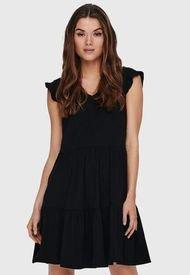 Vestido Only Negro - Calce Regular
