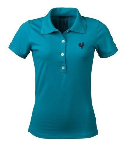 Made in Mato Camisa Polo Made in Mato Turquesa JmoFL