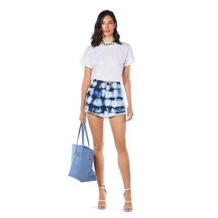 Morena Rosa Shorts Morena Rosa  Five Pockets Com Tie Dye  Jeans KNPD9