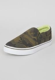 Zapatilla Slip On Teen Verde - Niño Corona