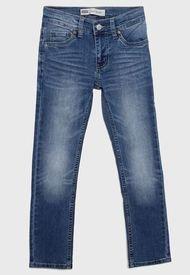 Jeans Levis Niño Azul - Calce Regular