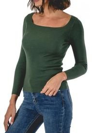 Sweater Magnus Verde Guinda