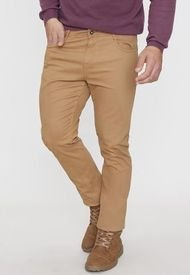 Pantalón 5 Pocket Camel - Hombre Corona