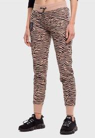 Pantalón Jogger Everlast Bright Beige - Calce Ajustado