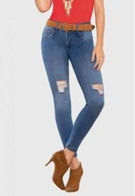 Jeans Colombiano Diva Azul Daxxys Jeans