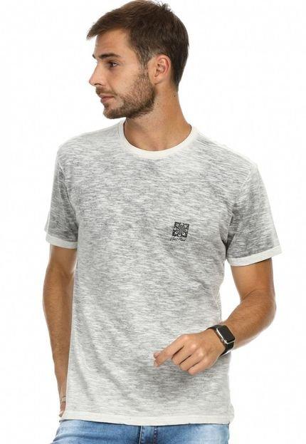 Camiseta VLCS Mind Gola Careca Cinza