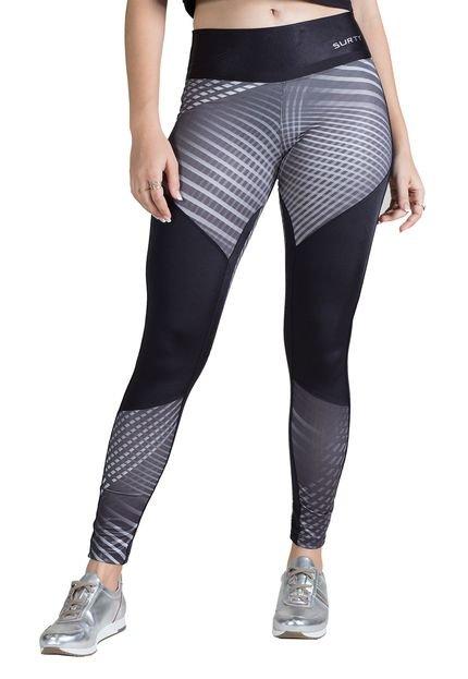 Surty Calça Legging Feminina Surty Linear Rounds gsRt0