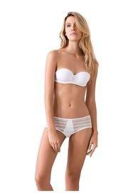 Panty En Lycra Y Blonda Ref 1230O92L Off White Options Intimate