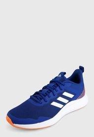 Tenis Running Azul-Blanco-Naranja adidas Performance Fluidstreet Shoes