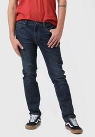 Jeans Lee Luke Azul - Calce Slim Fit