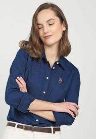 Camisa Azul Oscuro US Polo Assn
