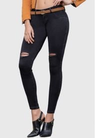 Jeans Colombiano Star Negro Daxxys Jeans
