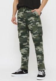 Pantalón Oakley Cargo Verde - Calce Regular