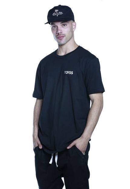 Camiseta Toiss Faixa Preta