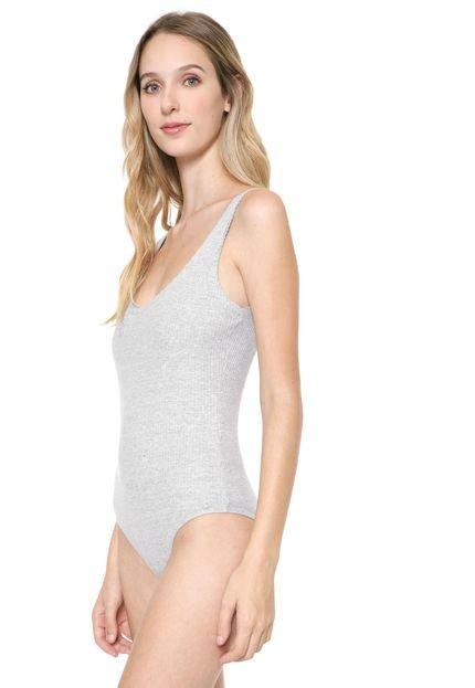Calvin Klein Jeans Body Calvin Klein Jeans Canelado Cinza RyG2D