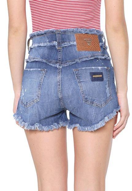 Colcci Short Jeans Colcci Boyish Azul