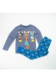 Pijama LL Niño Mickey Y Amigos Azul Disney