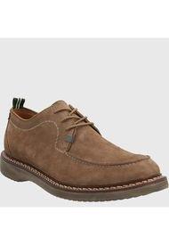 Zapato Cuero Hombre Neson Café Hush Puppies