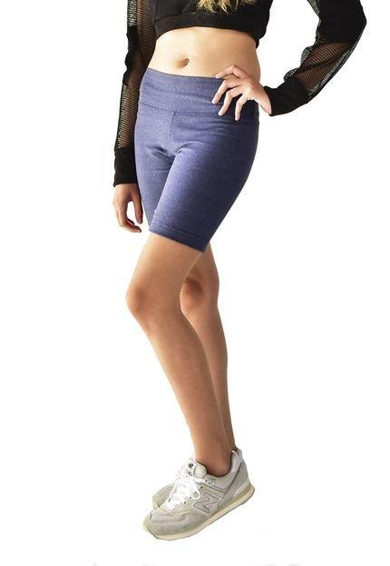 Brohood Shorts Brohood Compressão Esportivo Azul VLQOX